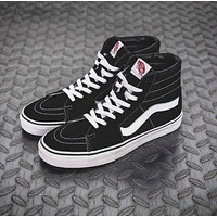 """VANS"" Fashion Women Men Casual High Help Sport Shoes Sneakers Black"