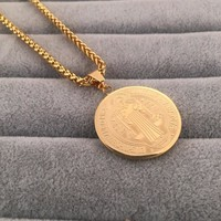 New Arrival Gift Stylish Shiny Jewelry Hot Sale Fashion Hip-hop Club Necklace [6542767043]