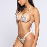 Diamond Influencer Bikini - Natural