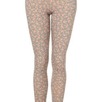Ditsy Floral Printed Leggings - Topshop USA