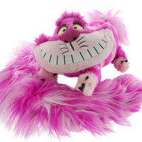"""disney parks alice in wonderland cheshire cat 12"""" long tail scarf plush new with tags"""