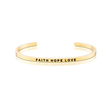 Faith Hope Love Bracelet