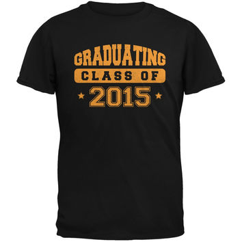 Graduating Class of 2015 Black Adult T-Shirt