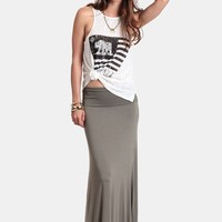 Coming Home Maxi Skirt