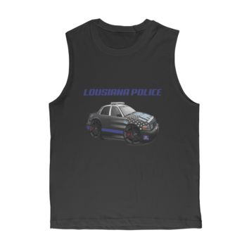 Lousiana Police Classic Adult Muscle Top