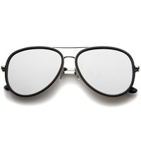 European Roadster Side Cover Mirrored Lens Sunglasses A235