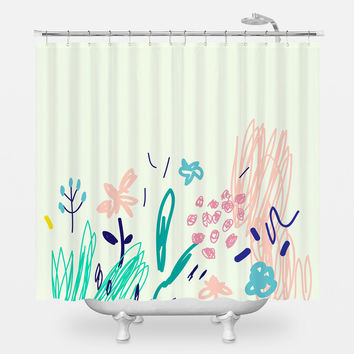 Fruity Cigarette Shower Curtain