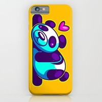 Sexy Panda iPhone & iPod Case by Artistic Dyslexia | Society6