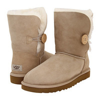 UGG Bailey Button Grey - Zappos.com Free Shipping BOTH Ways