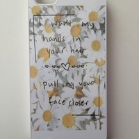 Hands in your Hair Daisies iPhone Case - iPhone