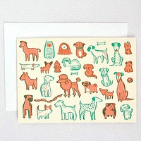 Puppy Dogs Blank Card Set
