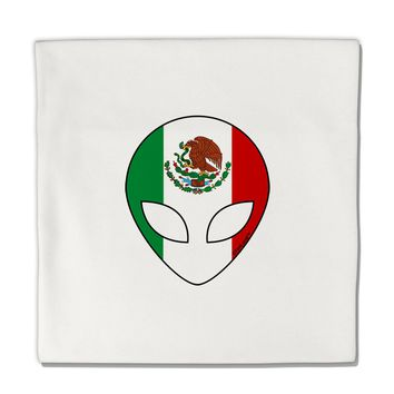 "Mexican Flag Extraterrestrial Micro Fleece 14""x14"" Pillow Sham by TooLoud"