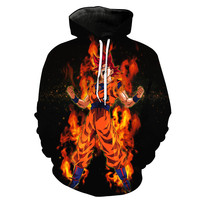 Super Saiyan God Goku Dragon Ball Z Hoodie