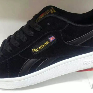 """Reebok"" Multicolor Stripe Casual Low Help Plate Shoes Men Shoes"
