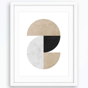 Geometric Art, Abstract Art, Wall Art, Minimalist Poster, Scandinavian Modern, Printable Art, Scandinavian Art, Contemporary Art, Modern Art