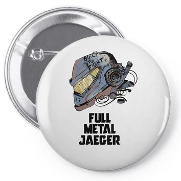 full metal jaeger Pin-back button