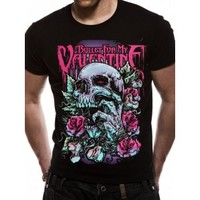 Bullet For My Valentine - Skull Red Eyes T-Shirt (Girls) - Tops & Shirts - Girls