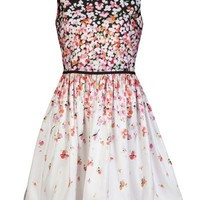 Red Valentino Floral Dress - Gus Mayer Birmingham - farfetch.com