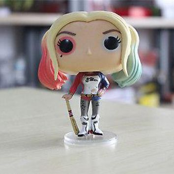Superheros Funko Pop Keychain Toy Wonder Women Action Harley Quinn Figure