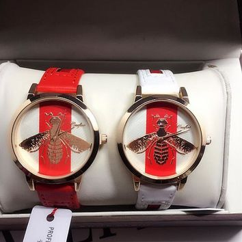 GUCCI Fashion Women Watch Little Bee Ltaly Stylish Watch