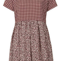 Tall Animal Tile Mix Tunic Dress - New In This Week - Tall - Tall  - New In