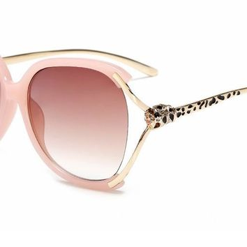 The new fashion sunglasses and big sunglasses personality trend fashion women sunglasses Kyouka toad