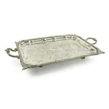Vintage Rectangle Moroccan Tray