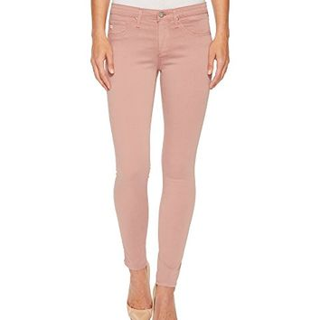 AG Adriano Goldschmied Sateen Leggings Ankle in Misty Mauve