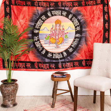 Lord Ganesh Tapestry
