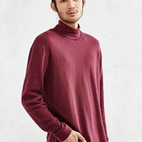CPO Raw Edge Turtleneck Sweatshirt