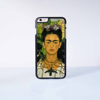 Frida Kahlo Plastic Case Cover for Apple iPhone 6 Plus 4 4s 5 5s 5c 6
