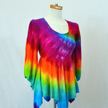 best rainbow hippie clothing products on wanelo