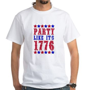 Party Like It's 1776 Men's Classic T-Shirts