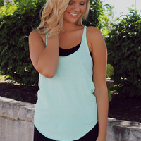 Wanna Race Tank - Mint