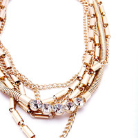 Golden Age Necklace - Gold