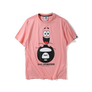 kuyou AAPE by A Bathing Ape x SpongeBob  Patrick Star Ape T-Shirt