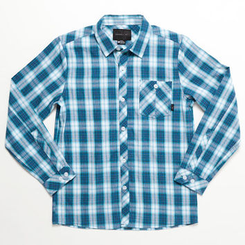 O'neill Ellison Boys Shirt Blue  In Sizes