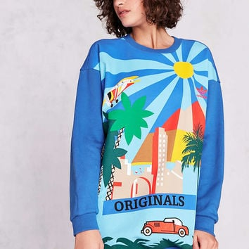 adidas Originals + UO Sunny City Pullover Sweatshirt - Urban Outfitters