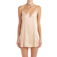 Zillah Slip Dress - Blush