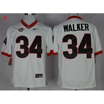 Original Nike Georgia Bulldogs Herchel Walker 34 College Limited Jerseys - Size M,L,XL,2XL,3XL