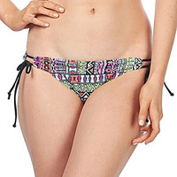 Bikini Lab Don't Worry Be Strappy Adjustable Hipster Bottom - Multi