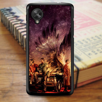 Supernatural Painting Art Horror Tv Series Nexus 5 Case