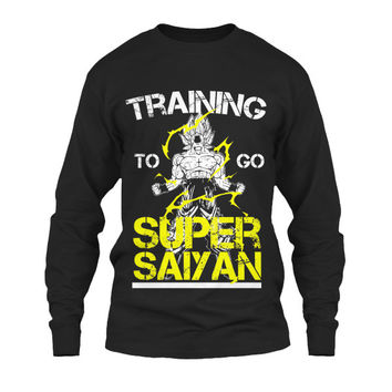 Super Saiyan - Training to go super saiyan  -Unisex Long Sleeve - SSID2016