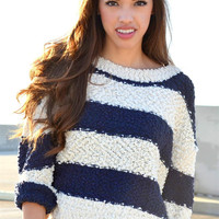 The Cloud Sweater - Navy