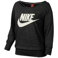 Nike Gym Vintage Long Sleeved Jersey Crew - Women's at Eastbay