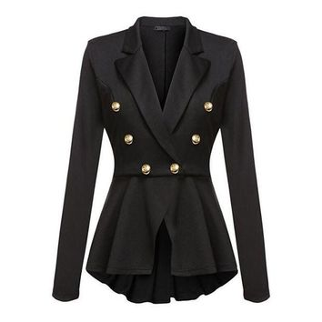 LMFONHS Fashion Brand Blazers Coat Black Red Women Slim Elegant Jacket Female Work Wear Casaco Feminino Woman Clothes Office Clothing