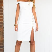The Way Midi Dress - STYLESTALKER