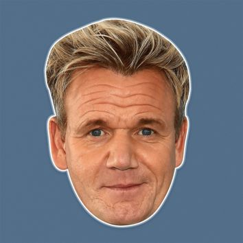 Disgusted Gordon Ramsay Mask - Perfect for Halloween, Costume Party Mask, Masquerades, Parties, Festivals, Concerts - Jumbo Size Waterproof Laminated Mask