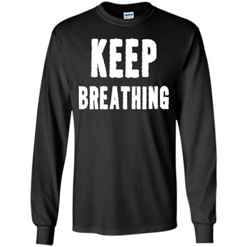 Keep breathing yoga meditation T-Shirt