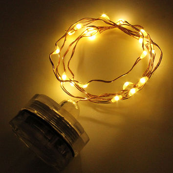String Light LED Outdoor Copper Wire LED Light  Decoration String Light For Christmas  Party Fairy Colorful Halloween LED String